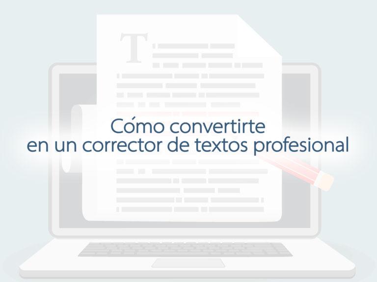 Kitzalet Como convertirte en un corrector de textos profesional 1
