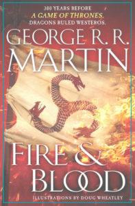 Fuego y Sangre Imagen tomada de la cuenta oficial de Facebook de George RR Martin 197x300 - Los 10 libros más recomendados como regalo para papá en su día