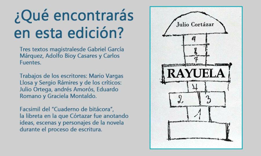 Rayuela edicion conmemorativa Imagen basada en portada original de la RAE 900x539 - Rayuela edicion conmemorativa Imagen basada en portada original de la RAE