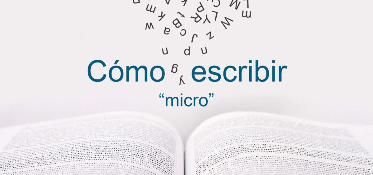 Kitzalet Como escribir micro 1 Imagen destacada