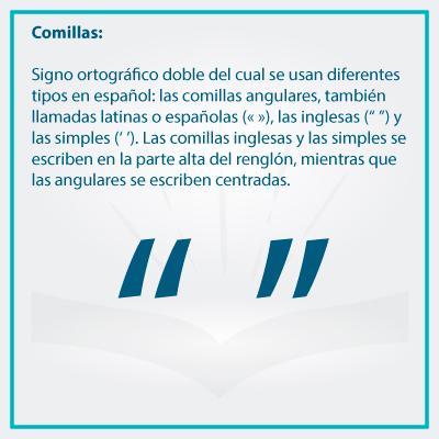 Conoce el uso correcto de los signos de puntuacion comillas - Conoce el uso de los signos de puntuación