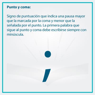 Conoce el uso correcto de los signos de puntuacion punto y coma - Conoce el uso de los signos de puntuación