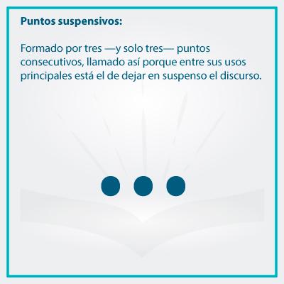 Conoce el uso correcto de los signos de puntuacion puntos suspensivos - Conoce el uso de los signos de puntuación