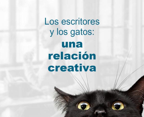 Kitzalet Los escritores y los gatos destacada 600x490 - Los escritores y los gatos: una relación creativa