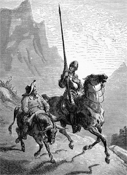 Kitzalet Plantilla para la creación de personajes Don Quijote y Sancho - Plantilla para la creación de personajes literarios inolvidables [DESCARGA GRATIS]