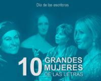 Kitzalet 10 grandes mujeres de las letras Día de las escritoras destacada 200x160 - 10 grandes mujeres de las letras [Día de las escritoras]