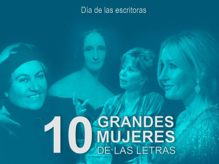 Kitzalet 10 grandes mujeres de las letras Día de las escritoras destacada