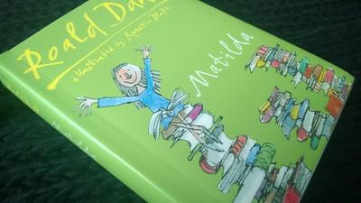 Kitzalet Cubierta de Matilda de Roald Dahl - Kitzalet - Cubierta de Matilda de Roald Dahl