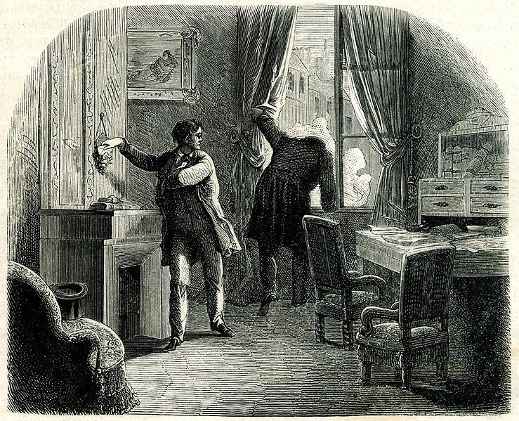 Kitzalet C Auguste Dupin - 10 personajes literarios que seguramente pensaste que existieron