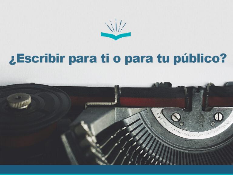 Kitzalet Escribir para ti o para tu público destacada
