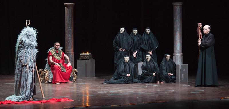 Kitzalet Escribir teatro Escena de la obra Edipo Rey - Kitzalet - Escribir teatro (Escena de la obra Edipo Rey)