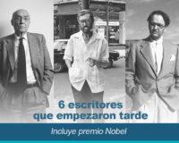 6 escritores que empezaron tarde incluye premios Nobel 200x160 - 6 Escritores que empezaron tarde (incluye premio Nobel)
