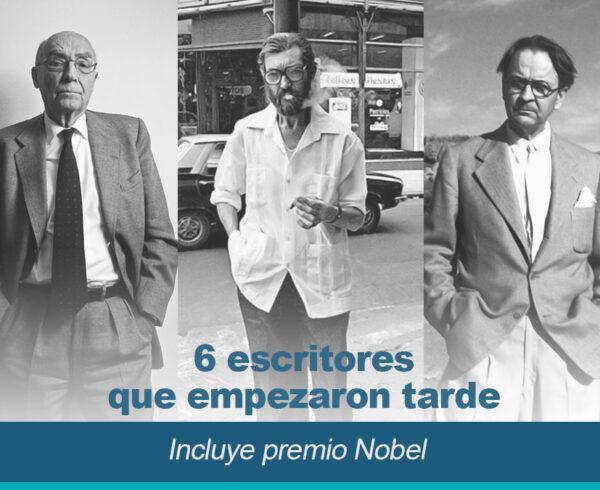 6 escritores que empezaron tarde incluye premios Nobel 600x490 - 6 Escritores que empezaron tarde (incluye premio Nobel)