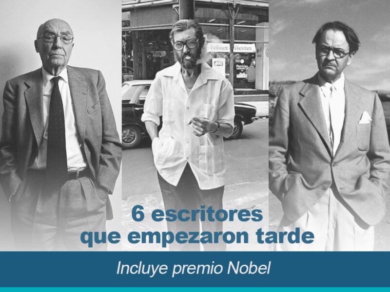 6 escritores que empezaron tarde incluye premios Nobel 800x600 - 6 Escritores que empezaron tarde (incluye premio Nobel)