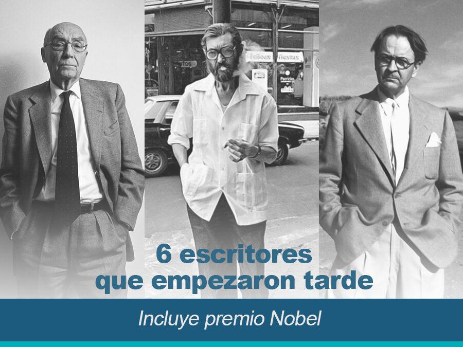 6 escritores que empezaron tarde incluye premios Nobel 900x675 - 6 escritores que empezaron tarde - incluye premios Nobel