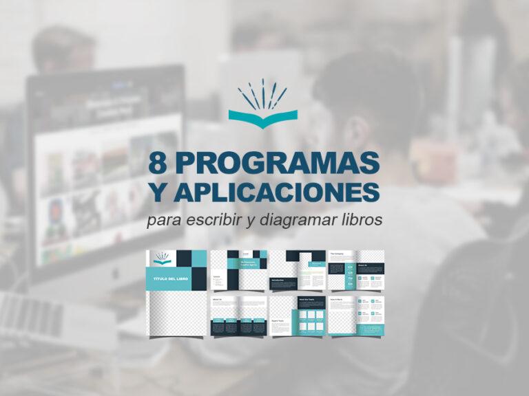 Kitzalet 8 programa y aplicaciones para escribir y diagramar libros