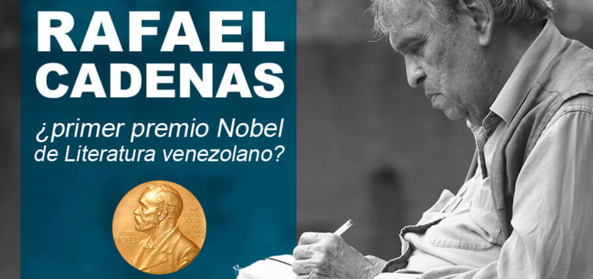 Kitzalet Rafael Cadenas primer Nobel de Literatura venezolano 1200x565 - Rafael Cadenas: ¿primer Nobel de Literatura venezolano?