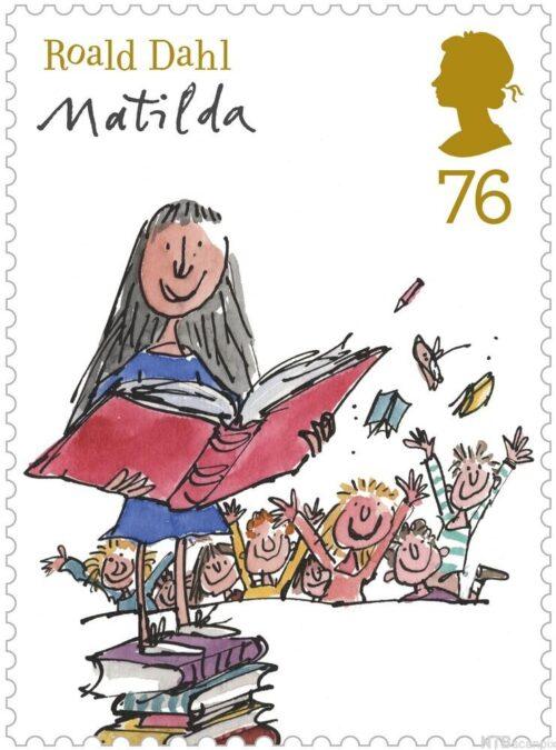 Kitzalet 3 libros escritos por Roald Dahl Cubierta de Matilda ilustrada por Quentin Blake 500x675 - 3 libros juveniles escritos por Roal Dahl