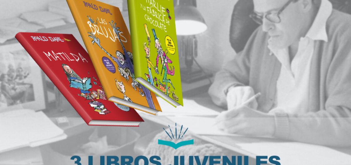Kitzalet 3 libros juveniles escritos por Roald Dahl 1200x565 - 3 libros juveniles escritos por Roal Dahl