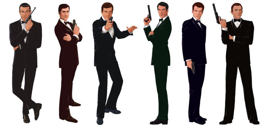 Kitzalet Formula para un libro exitoso Ilustraciones de James Bond 900x438 - James Bond, agent 007, set of male figures with gun image in Vector cliparts category at pixy.org