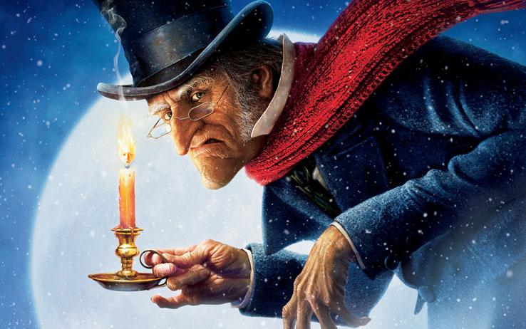 Kitzalet El Grinch y Scrooge Scrooge version 2009 Jim Carrey - El Grinch y Scrooge: dos villanos navideños que no pasan de moda