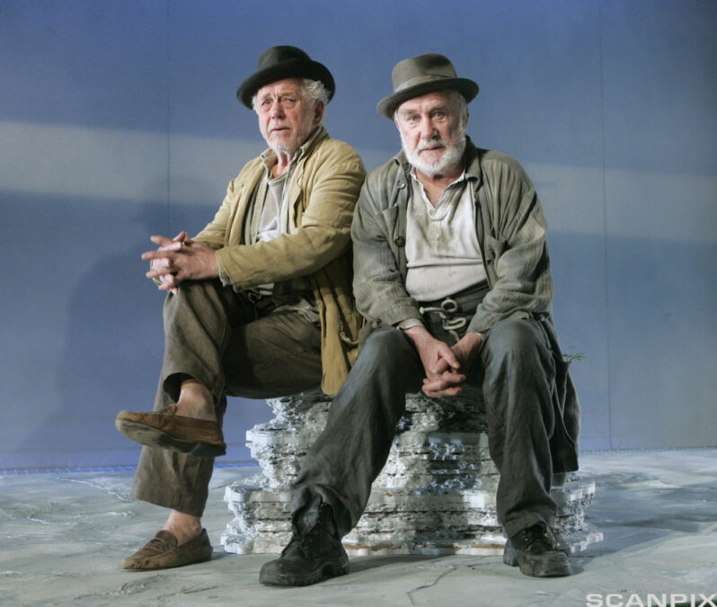 Kitzalet Samuel Beckett esperando el teatro del absurdo Didi y Gogo 798x675 - VENTE PÅ GODOT