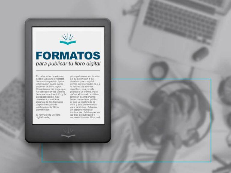 Kitzalet Formatos para publicar tu libro digital