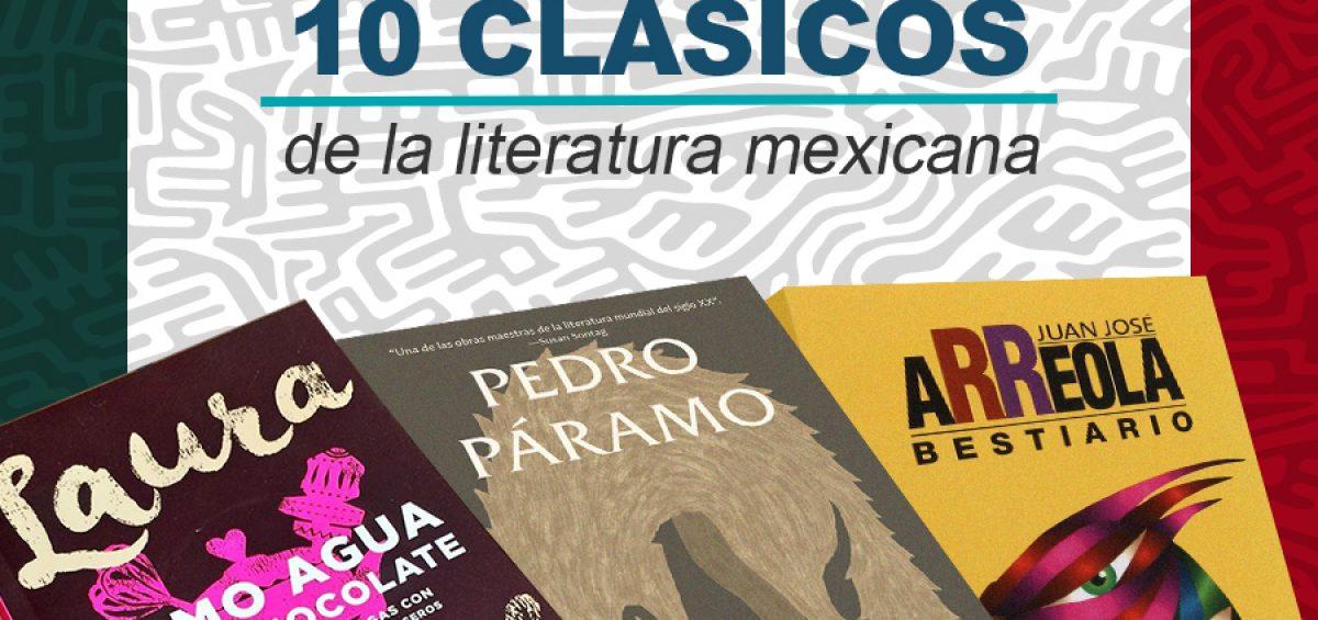 Kitzalet 10 clasicos de la literatura mexicana