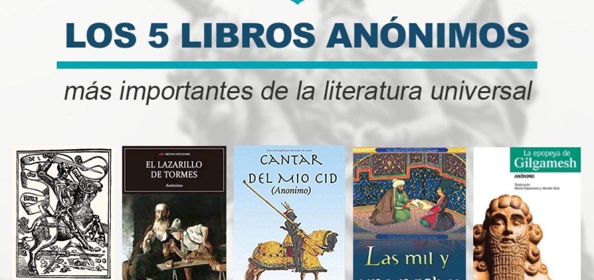 Kitzalet Los libros anonimos mas importantes