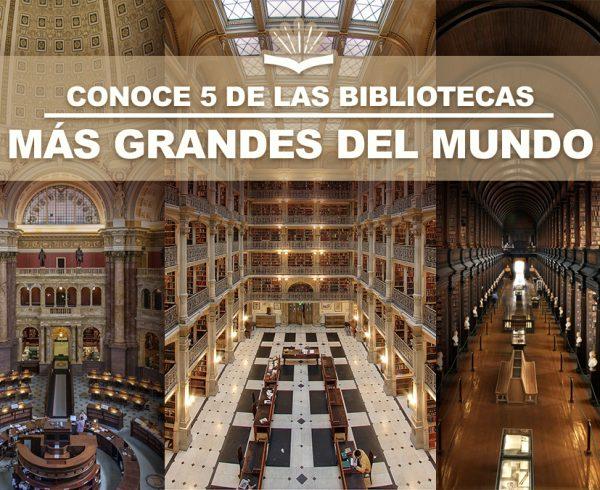 Kitzalet Conoce 5 de las bibliotecas mas grandes del mundo